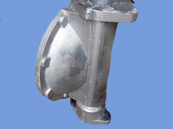 Pneumatic Diaphragm Pump Aluminum Die Casting Parts Pump