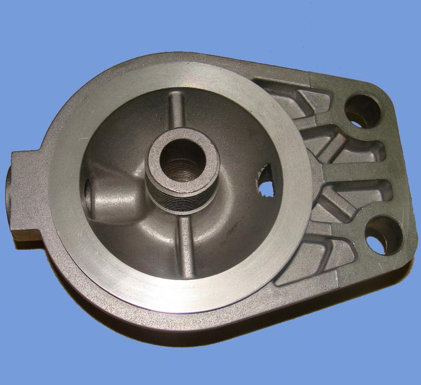 aluminum filter head